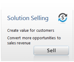 Solution Selling - Create value for customers. Convert more opportunities to sales revenue - Sell Now
